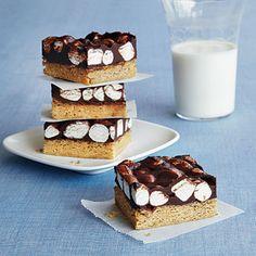 Gluten-Free S'More Bars   CookingLight.com