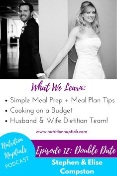 Nutrition Nuptials: Double Date with Stephen and Elise Compston on Apple Podcasts Low Budget Meals, Cooking On A Budget, Cooking Tips, Weight Loss Meal Plan, Easy Weight Loss, 200 Calorie Meals, Bodybuilding Nutrition, Nutrition Articles, Easy Meal Prep