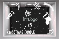 Modell 24:  individuelle Designanpassung (z.B: Integration des Firmenlogos) wetterfest UV-Beständig   Wir kalkulieren Ihren individuellen Preis Christmas Doodles, Design, Home Decor, Store Displays, Christmas Time, Model, Weihnachten, Interior Design, Design Comics