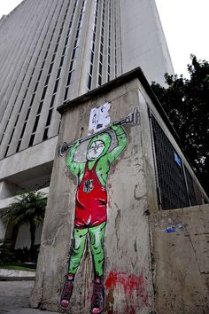hmmmmmmff!!!!! yeeees, I can !!!! (by Norules on Paulista Avenue, Sao Paulo) by urbanhearts, via Flickr