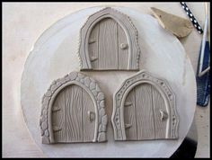 Clay Fairy Door Tutorial More