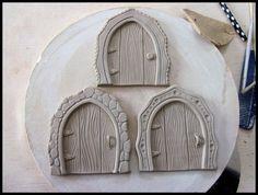 Clay Fairy Door Tutorial