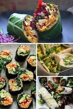 There's no need to use bread in your sandwiches. At all.  You can swap out white bread, rolls and baguettes for things like collard greens, Portobello mushrooms or nori.  Then, pick yourself a veggie, vitality-boosting filling like cauliflower, falafel, sweet potato or even a cheeky quinoa slider.