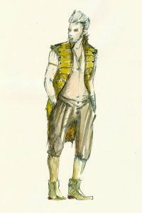 A Midsummer Night's Dream (Puck). Shakespeare Theatre Company. Costume design by Jennifer Moeller. 2012