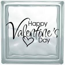 Our vinyl craft decals for square blocks are ready to be applied to glass blocks. Decals can also be applied to shadow boxes, tiles, walls, and more. Glass Block Crafts, Glass Blocks, Vinyl Crafts, Happy Day, Shadow Box, Happy Valentines Day, Free Recipes, Gluten Free, Art