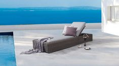 Canyon Outdoor Sun Lounge | Lavita Furniture