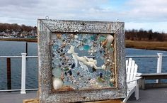 Sea Glass Mermaid Window by beachcreation on Etsy, $90.00
