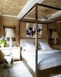 Cameron Diaz master bedroom ceiling