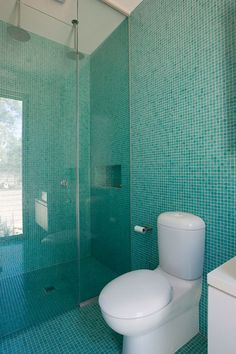 tiles in ensuite - smaller area though