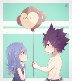 Little Grey and little Juvia