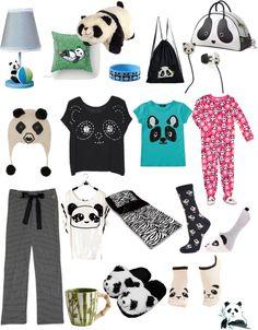 """Panda Sleepover"" by brittney-jacob on Polyvore"