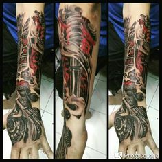 Robo terminator  Art#tattoos#tattooed