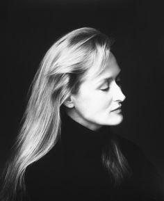 Meryl Streep photographed by Firooz Zahedi
