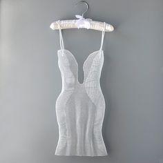 Modern metal art, Metal home decor Sculpture, Contemporary art, wedding dress sculpture, abstract art, white dress