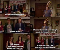 Marshall's intervention! - How I Met Your Mother :)