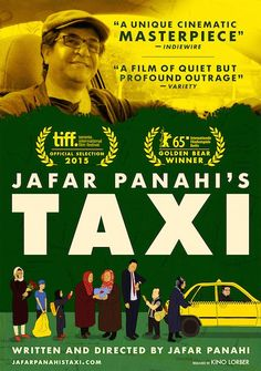 """Taxi (2015) / Shortly after the film's premiere at Berlin was announced, Panahi released an official statement in which he promised to continue making films despite the ban on him and said """"Nothing can prevent me from making films since when being pushed to the ultimate corners I connect with my inner-self and, in such private spaces, despite all limitations, the necessity to create becomes even more of an urge."""""""
