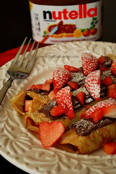 These crepes are to die for! One of the best sweet crepe recipes I've ever made! Pinning to remember later.