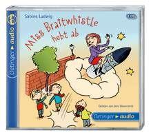 Miss Braitwhistle hebt ab (2 CD) - Ludwig / Wawrczeck