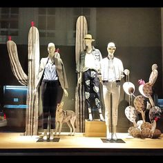 "J.CREW,London,UK, ""I'm no cactus expert Janine,but I know a prick when I see one"", photo by wowindow,pinned by Ton van der Veer"