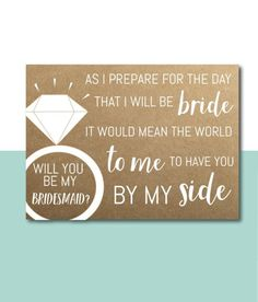 Wedding Day Bridesmaid Gifts Life New Ideas Wedding Day Bridesmaid Gifts, Ask Bridesmaids To Be In Wedding, Bridesmaid Quotes, How To Dress For A Wedding, Bridesmaid Proposal Cards, Bridesmaid Ideas, Bridesmaid Dresses, Asking Bridesmaid Gifts, Bridesmaid Jumpsuits