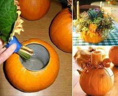Pumpkin Planter!