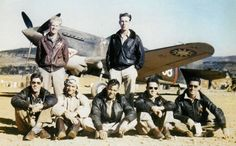 The 1st American Volunteer Group (AVG) of the Chinese Air Force in 1941–1942, nicknamed the Flying Tigers, was composed of pilots from the United States Army Air Corps (USAAC), Navy (USN), and Marine Corps (USMC), recruited under presidential authority and commanded by Claire Lee Chennault. The ground crew and headquarters staff were likewise mostly recruited from the U.S. military, along with some civilians.