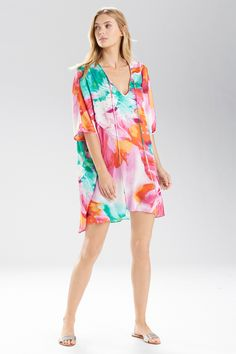 Feel radiant in tropical colors and floral prints, and anywhere will feel like paradise. Shop now at natori.com