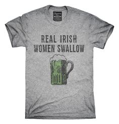 Real Irish Women Swallow T-Shirts, Hoodies, Tank Tops