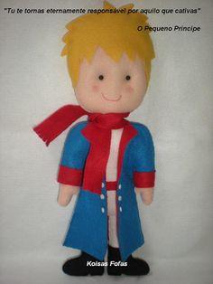 """""""Pequeno Príncipe""""                               @koisasfofasfeltros"""
