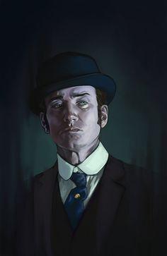 Inspector Reid by FluorineSpark.deviantart.com on @deviantART