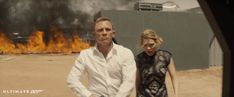 "ultimate-007: "" SPECTRE (2015) Daniel Craig as Bond and Lea Seydoux as Madeleine """