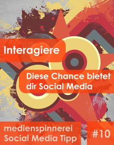#SocialMedia Tipp #10: Nutze den direkten Kontakt zu deinen Fans. So erhältst du Feedback, kannst auf Kritik reagieren und eine Beziehung zu deinen Fans aufbauen! Mehr auf http://www.medienspinnerei.de