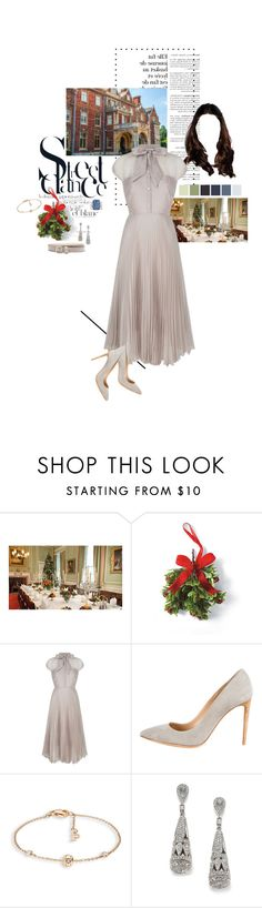 """""""Untitled #2407"""" by duchessq ❤ liked on Polyvore featuring Frontgate, Ralph Lauren, Piaget and Adriana Orsini"""