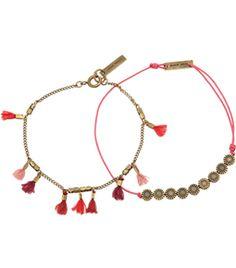 Set Of Two Embellished Bracelets  by Isabel Marant #Matchesfashion