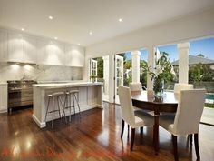 Kitchen cabinets. A View on Design