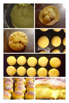 Saffransbullar fyllda med vaniljkräm   RababsMatlagning