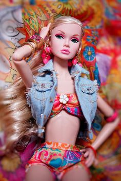 #PoppyParker #Doll Poppy of the swimsuit- tropical
