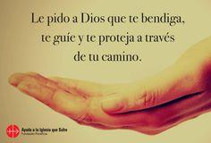 #oraciones #oración #religión #católica #Dios #amor #fe #frases #Jesús #camino #bendiciones #bendición #confianza #esperanza #iglesiaquesufre #ayudaalaiglesiaquesufre #AIS #Colombia