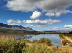 Full dam on Koelfontein farm, Ceres valley, South Africa. (Photo A. Some Pictures, Cape Town, South Africa, African, Mountains, World, Places, Travel, Viajes