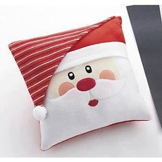 Un cojín muy navideño #Navidad #textil