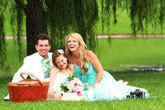 Family photo session beneath the willow trees.  :)