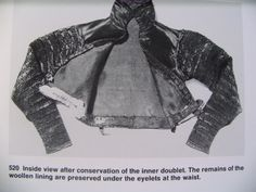 """Abegg Foundation: """"Textile Conservation and Research"""": 'Doublet of Count Friedrich von Stubenberg' Doublet, 16th Century, Conservation, Counting, Conservation Movement, Canning"""