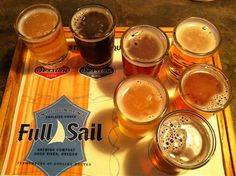Full Sail Brewery, Hood River, Oregon. Yum! Our favorite place to go in Mt. hood!