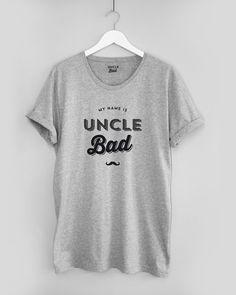 Tshirt Gris Uncle Bad de Jean-Luc Lemoine