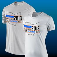 2013 @Nationwide Children's Hospital Columbus Marathon & 1/2 Marathon In Training Shirts
