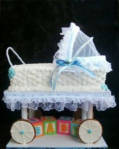 Carriage Cake - This elaborate cake just might steal the show.
