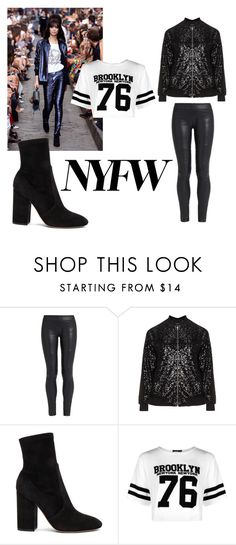 """""""New York fashion week"""" by bestqueenever ❤ liked on Polyvore featuring The Row, Manon Baptiste, Valentino and Boohoo"""