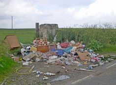 Cllr Ben Stokes angry after waste is dumped in Old Ferry Road, Iwade