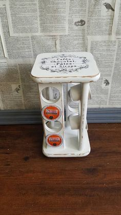 Love This Vintage Spice Rack That Is Now A Keurig K Cup