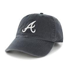 meet e8bc4 f93da Atlanta Braves 47 Brand Clean Up Cap